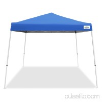 Caravan Canopy Sports 10' x 10' V-Series 2 Instant Canopy Kit, Blue (64 sq ft Coverage)   552320441