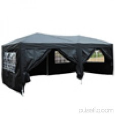 Zimtown 10'x20' Ez POP up Wedding Party Tent Folding Gazebo Beach Canopy Car Tent W/carry Bag