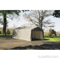 Shelterlogic 13' x 28' x 10' Peak Style Carport Shelter   554797614