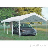 Shelterlogic Super Max 12' x 26' 5-Rib Canopy White Cover   554798571