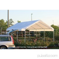 Shelterlogic SuperMax 10' x 20' All Purpose Canopy Replacement Cover 554796401