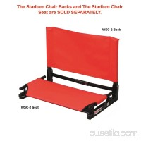 The Stadium Chair Wide Folding Stadium Chair Back