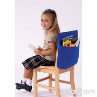 "Seat Sack Large Chair Storage Pocket, 17"", Blue   563265682"