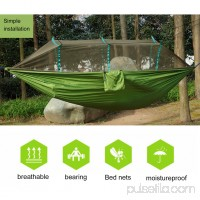 Outdoor Activities Travel Camping Folding Portable Parachute Hammock Anti Mosquitoes Net Waterproof Accessory