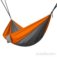 Portable 2 Person Hammock Rope Hanging Swing Camping - Camo / Camouflage