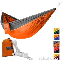 Yes4All Lightweight Double Camping Hammock with Carry Bag (Purple)   566637785