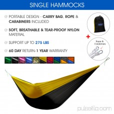 Yes4All Single Lightweight Camping Hammock with Carry Bag (Camo) 566638987