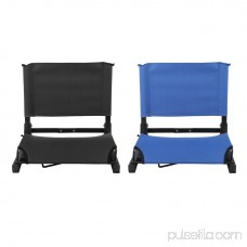 Folding Portable Stadium Bleacher Cushion Chair Durable Padded Seat With Back 569878442