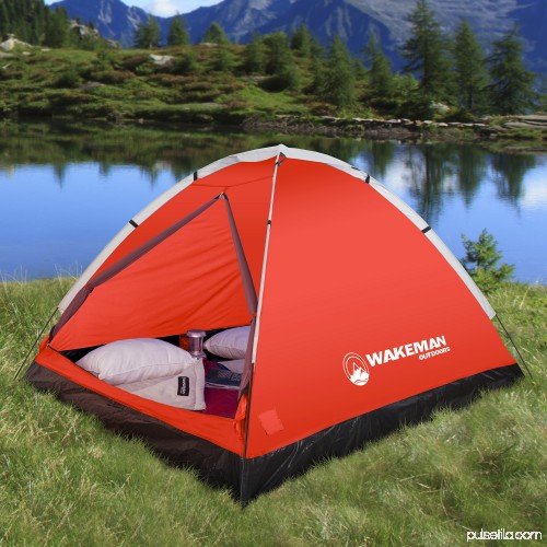 3cc3a9546 2-Person Tent, Water Resistant Dome Tent for Camping With Removable ...