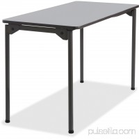 Iceberg Maxx Legroom Wood Folding Table   555207295