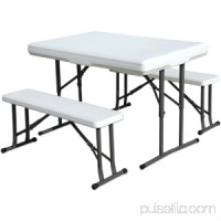 Stansport 616 Heavy Duty Picnic Table & Bench Set   552251391