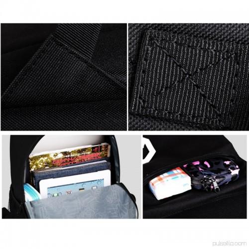 7293b50ceb2 ENJOY USB Charge Cool Boys School Backpack Luminous School Bag Music Boy  Backpacks Black Gray