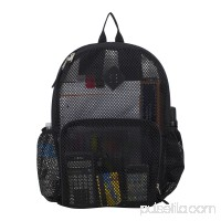 Eastsport Multi-Purpose Mesh Backpack with Front Pocket, Adjustable Straps and Lash Tab 567669663
