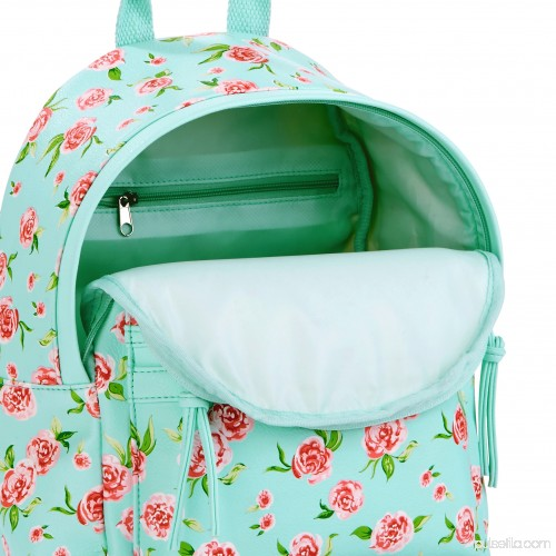 Mint Floral Mini Dome Backpack 566907964