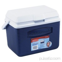 Rubbermaid 10 Quart Modern Blue Personal Cooler   564310231