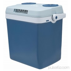 Knox Gear 27 Quart Electric Cooler/Warmer with Dual AC and DC Power Cords (Blue)