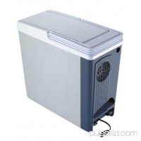 Koolatron P20 Compact 18 qt. Thermoelectric 12 volt Portable Travel Cooler, 23 can capacity   955529