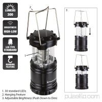LED Lantern, Collapsible and Portable LED Outdoor Camping Lantern Flashlight for Hiking, Camping and Emergency By Wakeman Outdoors   564755533