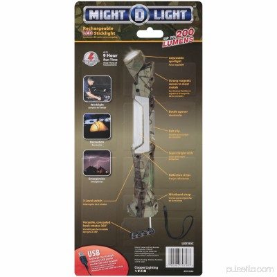 Cooper Lighting Might D Light Rechargeable Led Stick