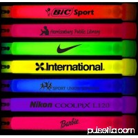 "Glow Sticks Bulk Wholesale, 100 6"" Glow Stick Light Sticks Assorted + 100 FREE Glow Bracelets BONUS, Glow With Us Brand"