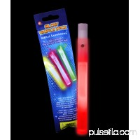 Glow Whistles 6 inch - Red