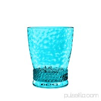 Better Homes & Gardens Plastic 14 Oz Rope Short Tumbler Aqua   565259030