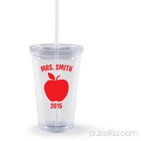 Personalized Teacher Gift - Apple Acrylic Tumbler   550240529