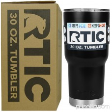 RTIC 30 oz Black Stainless Steel Tumbler 558134311