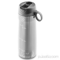 Pogo BPA-Free Plastic Water Bottle with Flip Straw 556107618