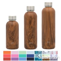 Simple Modern 17oz Bolt Water Bottle - Stainless Steel Hydro Swell Flask - Double Wall Vacuum Insulated Reusable Grey Small Kids Metal Coffee Tumbler Leak Proof Thermos - Slate 568031992