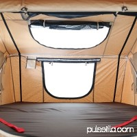 Smittybilt 2883 XL Overlander Roof Top Camping Folded Tent w/ Ladder, Coyote Tan