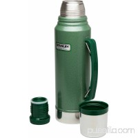 Stanley Classic 1.1 qt Vacuum Bottle and 8 oz Flask Gift Set, Green 554426290