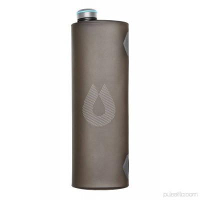 Hydrapak Seeker Water Bottle Ultralight Storage – Mammoth Gray, 2 L