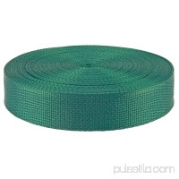 1 1/2 Inch Green Polypropylene (Polypro) Webbing Closeout