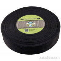 Country Brook Design® 2 Inch Black Heavy Polypropylene (Polypro) Webbing