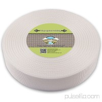 Country Brook Design® 2 Inch White Polypropylene (Polypro) Webbing