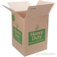 Duck Heavy-Duty Moving/Storage Boxes, 18l x 18w x 24h, Brown -DUC280727 563221731
