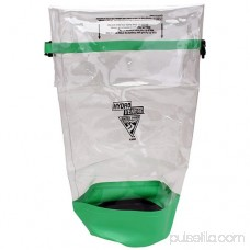 Seattle Sports Glacier Clear Dry Bag, Clear/Lime 554421030