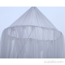 Outgeek Mosquito Net Romantic Lace Mosquito Netting Curtain Dome Bed Canopy for Kids Women Girls Bedroom Nursery Decor