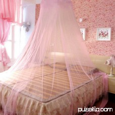 Universal Elegant Round Lace Mosquito Net Fly Indoor Insect Protection Bed Canopy Mesh Curtain
