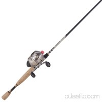 "Zebco / Quantum 33 Max Singcast Combo 2.6:1 Gear Ratio, 2+1 Bearings, 6'6"" 2pc Rod, 10-20 lb Line Rate, Ambidextrous   553471385"