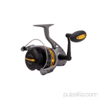 "Zebco / Quantum Lethal Spinning Reel Size: 100, 4.9:1 Gear Ratio, 45"" Retrieve Rate, 45 lb Max Drag, Ambidextrous   552538755"