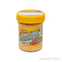 Berkley PowerBait Natural Glitter Trout Dough Bait Garlic Scent/Flavor, Yellow   564236802