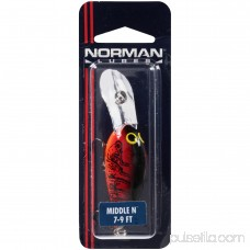 Norman® Lures Middle N™ Chili Bowl 7–9 ft. Lure 000977311