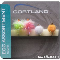 Cortland 4pk Flies, Assorted Egg   555503340