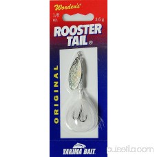 Worden's® Rooster Tail® White Original Fishing Bait 0.13 oz. Pack 564756494