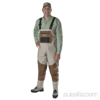 Caddis Systems Deluxe Breathable Stocking Foot Wader, 2-Tone Taupe   563476635
