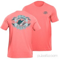 Flying Fisherman Cigar Label Tee, Coral, XXL   551262298