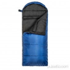 Lucky Bums Youth Muir Sleeping Bag 40°F/5°C with Digital Accessory Pocket and Carry Bag, Kryptek Highlander