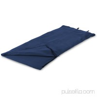 Stansport Fleece Sleeping Bag - Blue - 32 in x 75 in 570415627